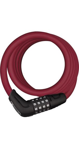 ABUS Numero 5510C Zapięcie kablowe  180/10 czerwony